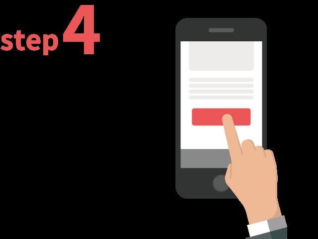 ご登録からお仕事までの流れ ステップ4 案件へのご応募